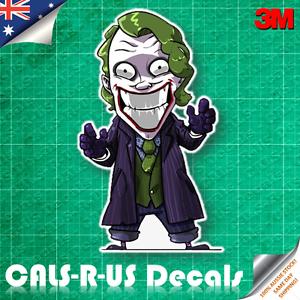 Joker Why So Serious Cool Danger Vinyl Hard Hat Motorcycle Car Sticker Decal