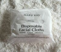 Mary Kay Disposable Large Facial Cloths Pack Of 30 Ships Fast