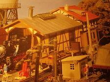 Faller 131287  1287 Lokschuppen mit Haus Bausatz NEU