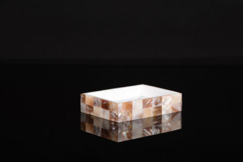 Soap Saver,sea shell Soap Dish Holder mother of pearl collection