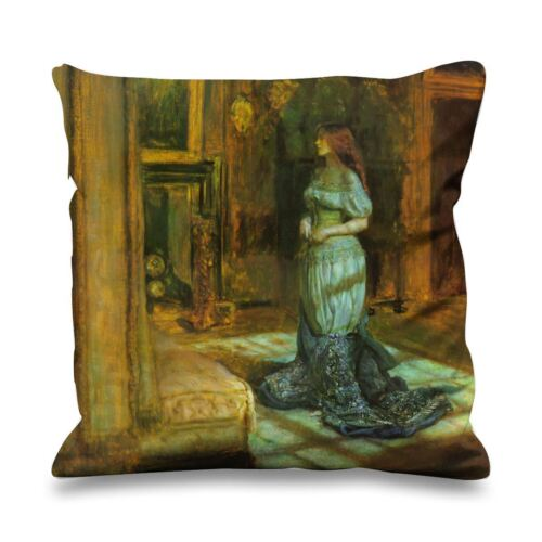 Pre-Raphaelite John Everett Millais Eve of St Agnes 45cm x 45cm Sofa Cushion