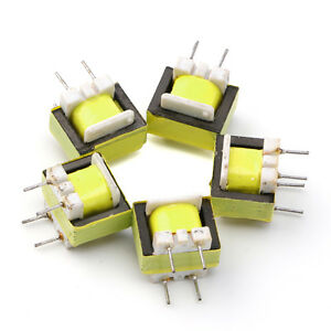 10Pcs-Audio-1300-8-Ohm-Transformer-EE14-Transformateur-POS-Machine-transformer