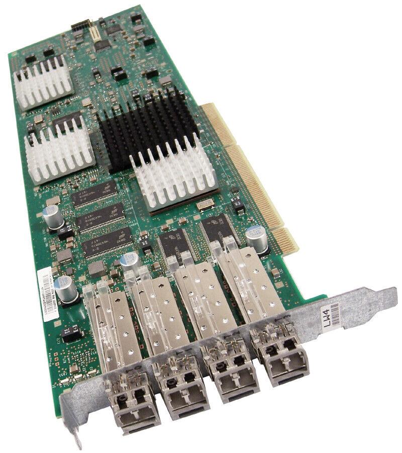 IBM 23R0186 LW4 W 4Gb GBIC Ficon FCp Card Only 22R6932 W 4x77P5893 NO-Enclosure