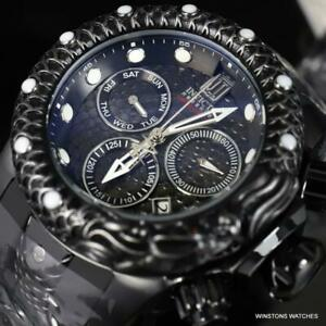 Invicta Reserve JT Subaqua Venom Dragon Scale Swiss Mvt Black 54mm Watch New
