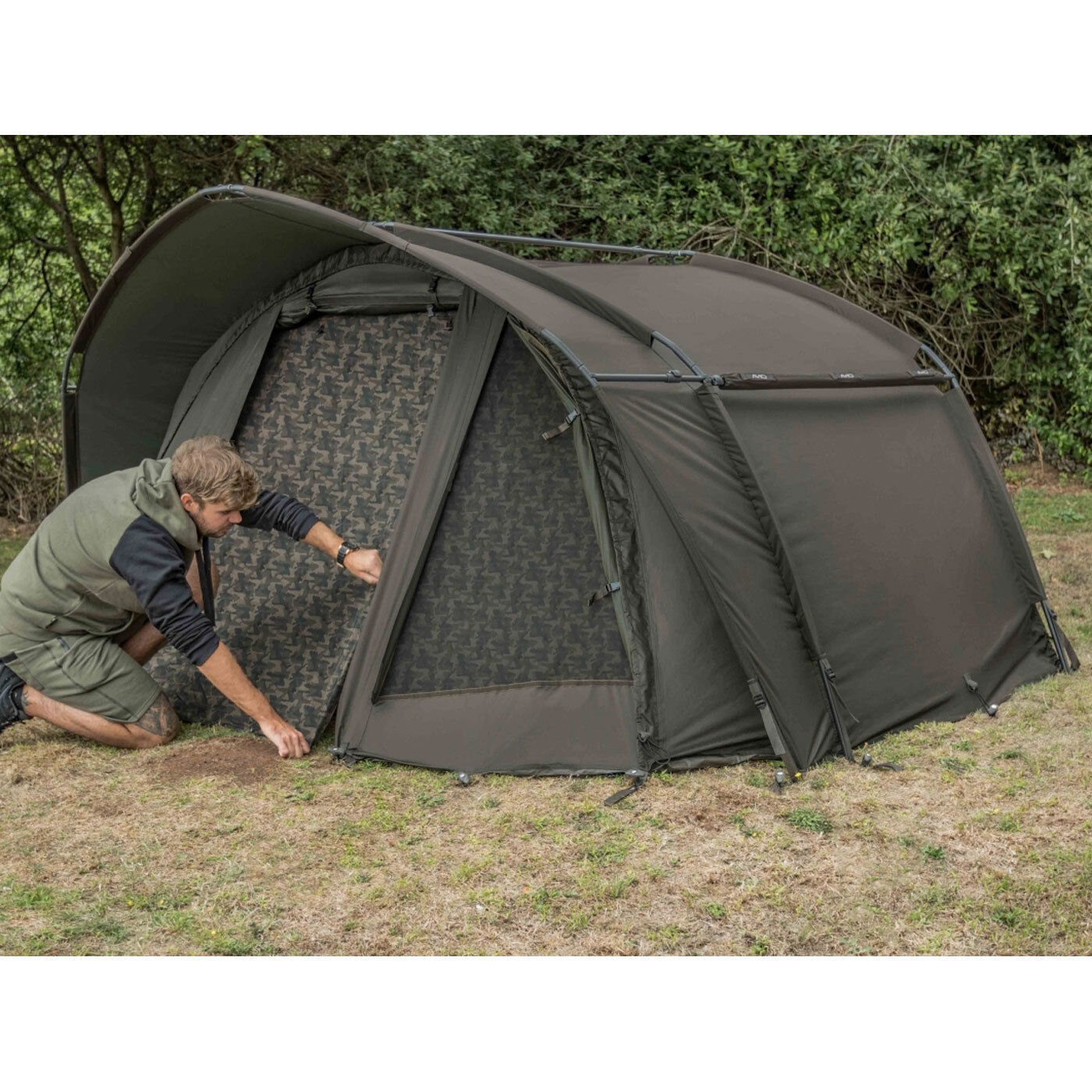 Avid HQ Dual Layer Bivvy - Two Man New 2019 - Free Delivery