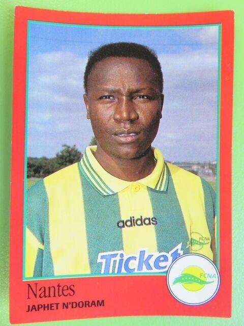 Panini 1997 foot 97-nº 236-japheth no doram-football club de nantes