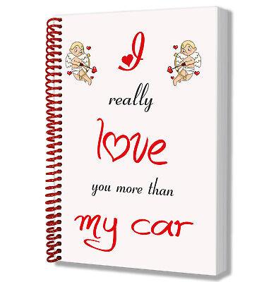 Notepad I Love Geckos A5 Notebook Gift Birthday Christmas