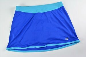 New Balance Lightning Dry Bleu Tennis, Golf, Sport Short Avec Comp Short Femme S-afficher Le Titre D'origine