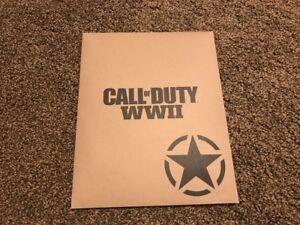 Amical Call Of Duty: Ww2 La Seconde Guerre Mondiale Affiche 11x17 & 8x10 Propagande Imprimé-afficher Le Titre D'origine Correspondant En Couleur