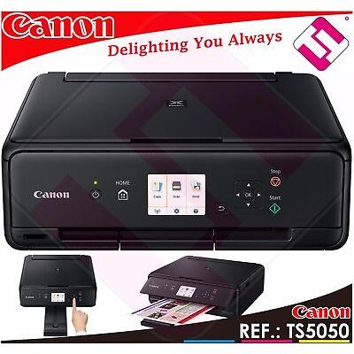 MULTIFUNCION IMPRESORA CANON PIXMA TS5050 WIFI A4 4800 X 1200 PPP USB ESCANER