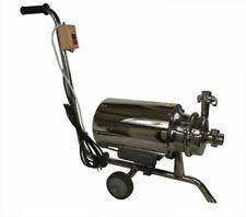 110v075kw 304 Food Grade Centrifugal Pump 3 Tonh Sanitary Beverage Pump New