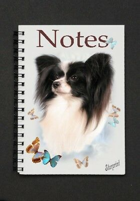 Papillon Notebook by Curiosity Crafts