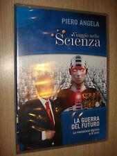 DVD N° 17 VIAGGIO NELLA SCIENZA PIERO ANGELA LA GUERRA DEL FUTURO RIVOLUZIONE