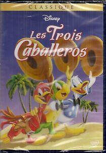 DVD-034-Les-Trois-Caballeros-034-DISNEY-N-7-NEUF-SOUS-BLISTER