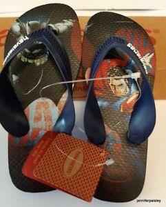 c497d4f0cc714 HAVAIANAS Genuine BNWT Kids Boy THONGS FLIP FLOPS Sandals max herois ...
