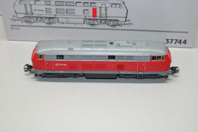Märklin 37744 Digital Diesel Locomotive Series 216 139-6 DB Cargo Gauge H0 Boxed