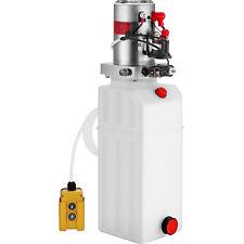 Vevor 10 Quart Single Acting Hydraulic Pump Dump Trailer Reservoir Crane Repair