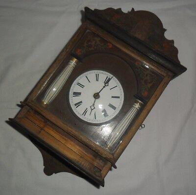 Uralte KUCKUCKSUHR Aus HOLZ Vor 1900 Wanduhr Schwarzwald Für Uhrmacher