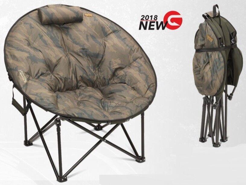 Anaconda Deluxe Freelancer Circle Chair NEW Carp Carp Carp Fishing Fold Up Moon Chair 20012e