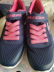 Girls Skechers memory foam Trainers