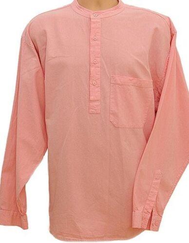 Grandad Shirt Original half //button Quality Classic design view all in10 Colours
