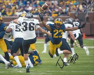 Michigan-Wolverines-TYREE-KINNEL-Signed-8x10-Photo