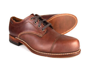 Wolverine-1000-Miles-Watson-Welted-Horween-Leather-Brown-Mens-Shoes-RRP-395