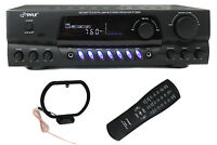 Pyle Pro Pt260a 200w Home Digital Am Fm Stereo Receiver Theater Audio