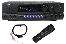 NEW PYLE PRO PT260A 200W Home Digital AM FM Stereo Receiver Theater Audio
