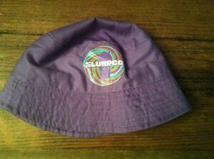 acbcbd4a80d7f NWT Slurpee Bucket Hat Purple NEON Rainbow Logo 7-Eleven Kids 7-11 ...