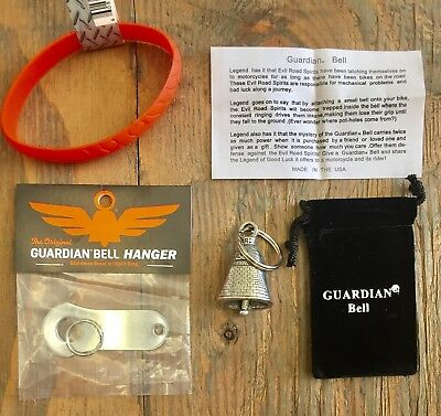 Guardian/® Bell CAFE RACER COMPLETE MOTORCYCLE KIT W//HANGER /& WRISTBAND