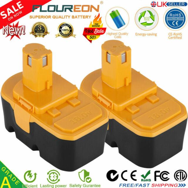 2x 2.0Ah 18V Ni-CD Battery for Ryobi BPP-1815 BPP-1817M BPP-1820 ONE+ Plus P100