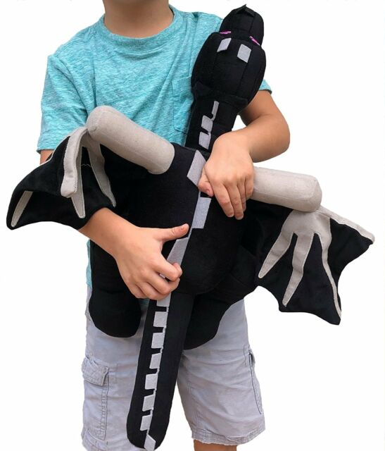"Minecraft 24"" Enderdragon Big Size from video game soft plush toy Kids Gift"