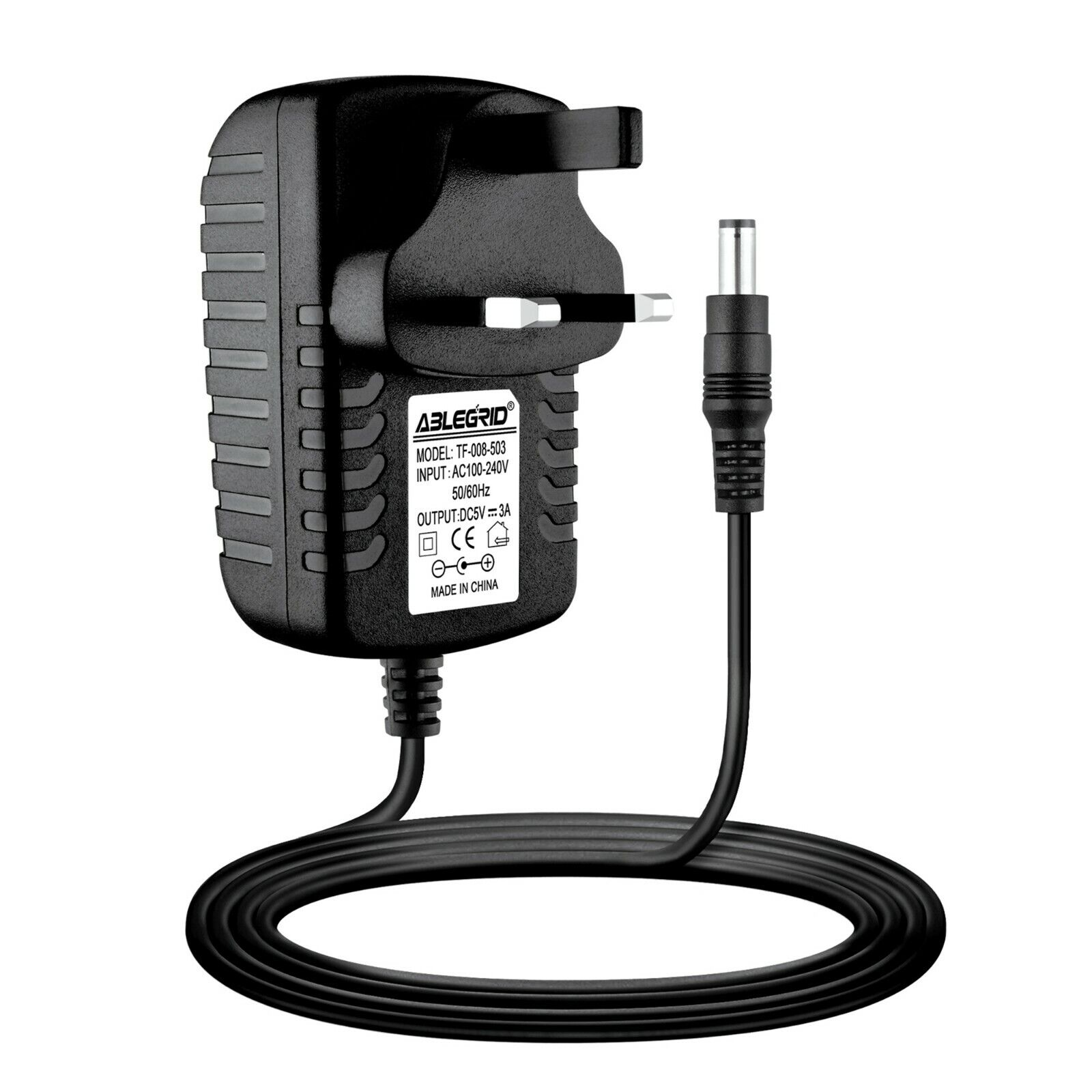 UK 5V 3A AC-DC Power Supply Adapter To Fit Lenovo ideapad MiiX 300-10IBY 80NR