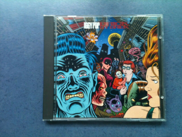 Iggy Pop - Brick By Brick - Germany CD 1990 - 1 Press / TOP - ZUSTAND !!!