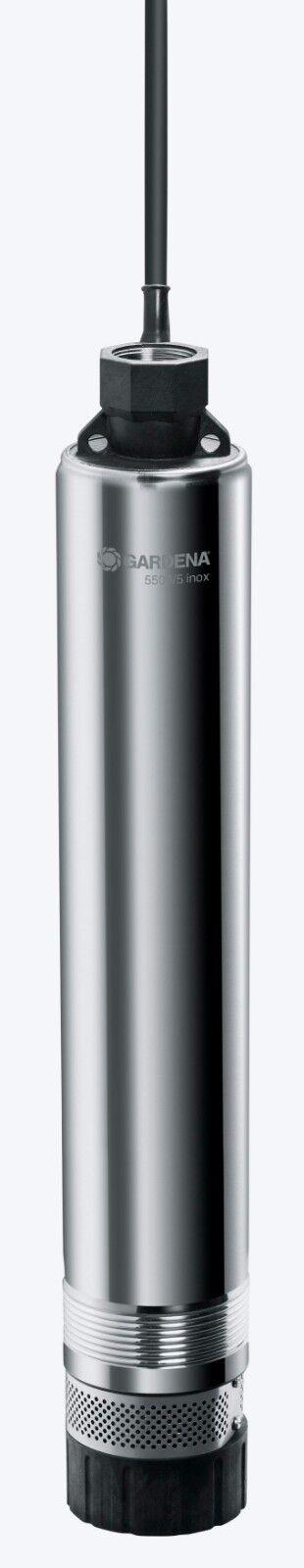 Gardena premium profundo pozo bomba 5500 5 INOX (1489)