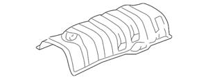 Genuine Toyota Heat Shield 58327-47010