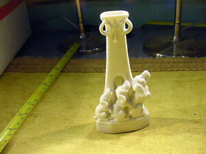 Quality Loyal Excavated Vintage Victorian Three Dog Figurine 1890 Limbach Art In 5453 Excellent
