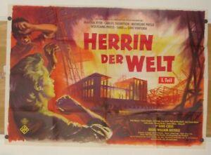 HERRIN-DER-WELT-1-Teil-A0-Kinoplakat-039-60-MARTHA-HYER