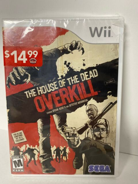 The House Of The Dead Overkill Nintendo Wii 2009 For Sale