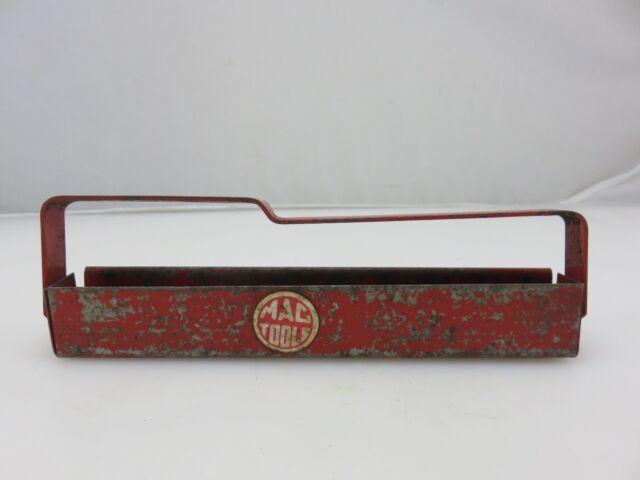 Mac Tools XT29 Red Metal Socket Caddy Tray Holder 7