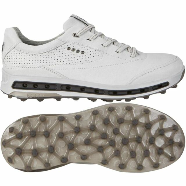 authentic quality 2019 hot sale distinctive design ECCO Mens Cool Pro Golf Shoes White Black Extra Width Option Size 44 (uk  9.5-10)