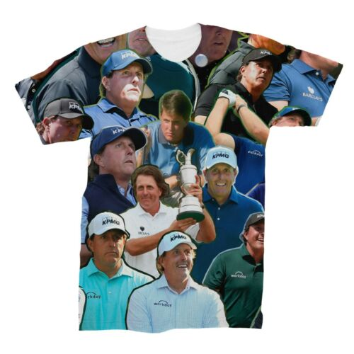 Phil Mickelson Photo Collage T-Shirt