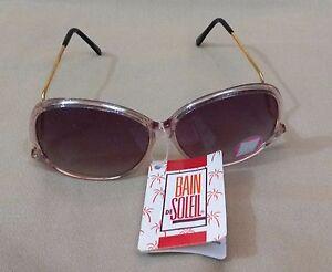 Vintage mod style bain de soleil sunglasses with tag never worn ebay - Bain de soleil solde ...