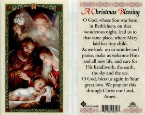 Christmas Blessing Prayer.Details About A Christmas Blessing Prayer Laminated Card Will Be Loved And Cherished By All