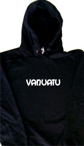 Vanuatu text Hoodie Sweatshirt