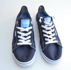Plimsole 5 Talla inferior en del deporte Zapatillas Reino Unido superior la azules Furgonetas con de encaje parte aarpqdw1