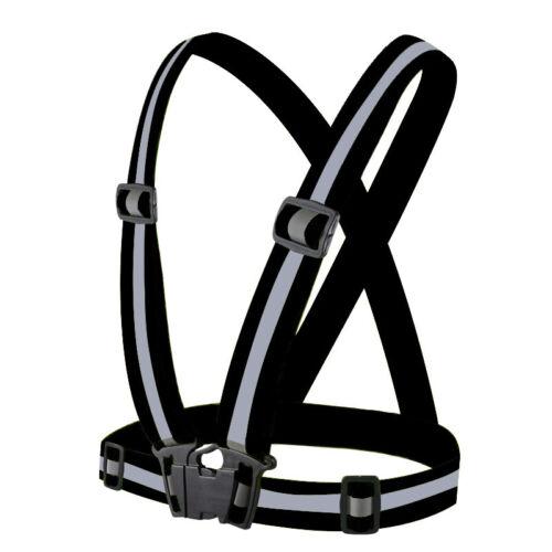 Hi Viz Vest High Vis Safety Cycling Visibility Waistcoat Jackets Reflective Belt