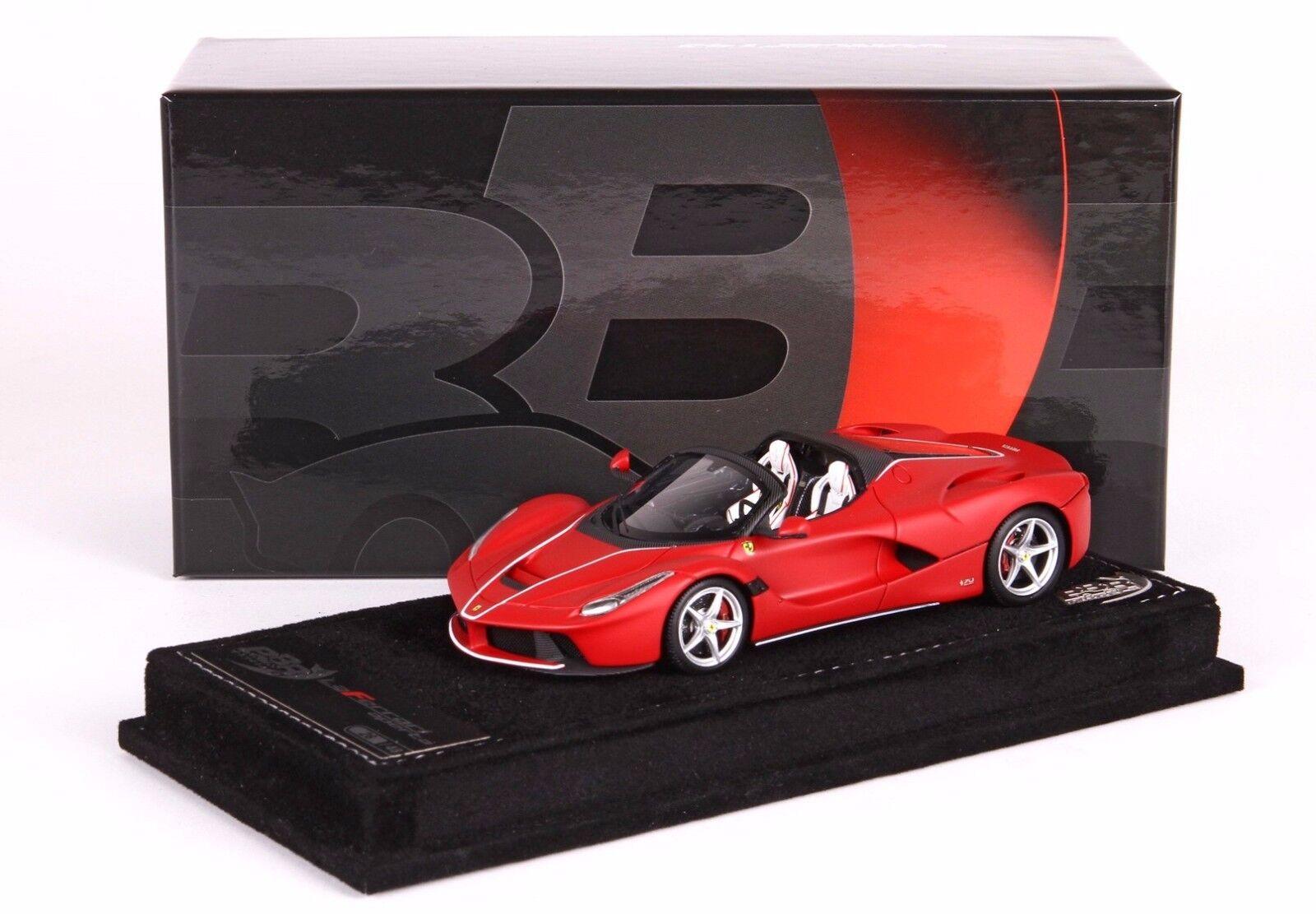 Ferrari LaFerrari Aperta Rosso Corsa Opaco lim.ed.48 pcs  BBRC187RCM