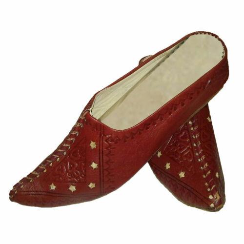 Orientalische Schuhe Leder Marokkanische Babouche Pantoffel Hausschuhe Marokko